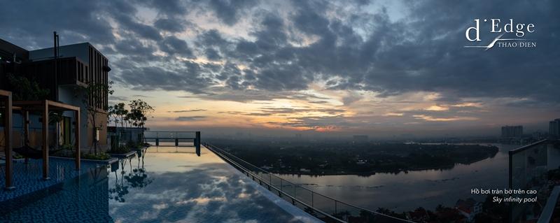 dEdge Sky Infinity pool d'Edge Thảo Điền gây ấn tượng với nhiều tiện ích đẳng cấp cho cư dân