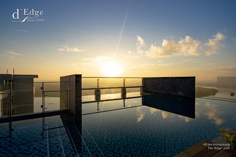 dEdge the  Edge  pool d'Edge Thảo Điền gây ấn tượng với nhiều tiện ích đẳng cấp cho cư dân