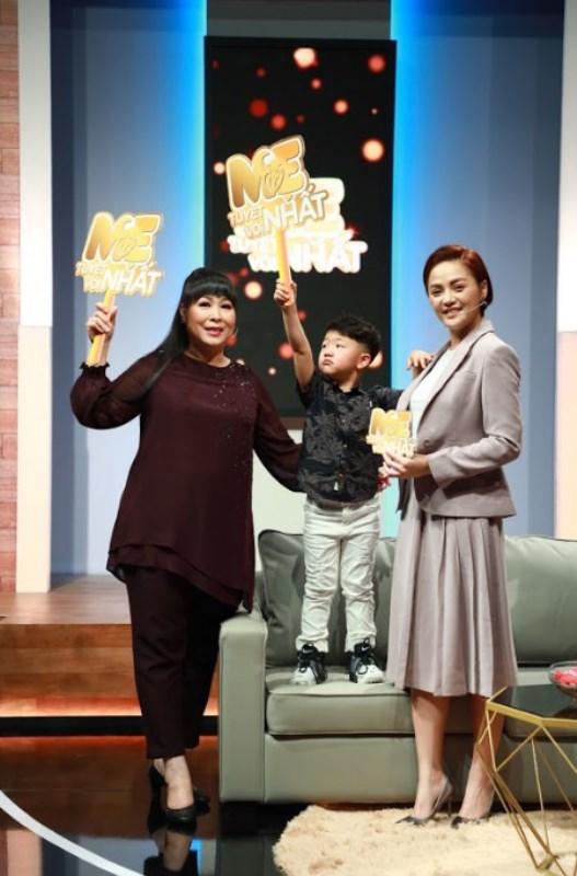 thu quỳnh ben Thu Quỳnh vỡ òa hạnh phúc khi con trai 5 tuổi nói sẽ bảo vệ mẹ