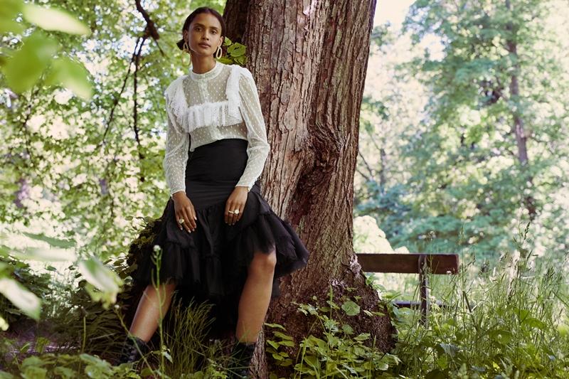 HM NTK Sandra Mansour 6 H&M hợp tác với NTK Sandra Mansour ra mắt BST đậm nét nữ tính và tình yêu thiên nhiên