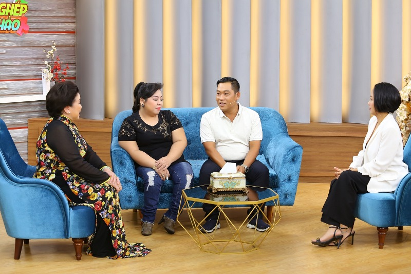 Mảnh Ghép Hoàn Hảo 2 Ốc Thanh Vân rơi nước mắt vì người chồng ẵm vợ khuyết tật suốt 15 năm