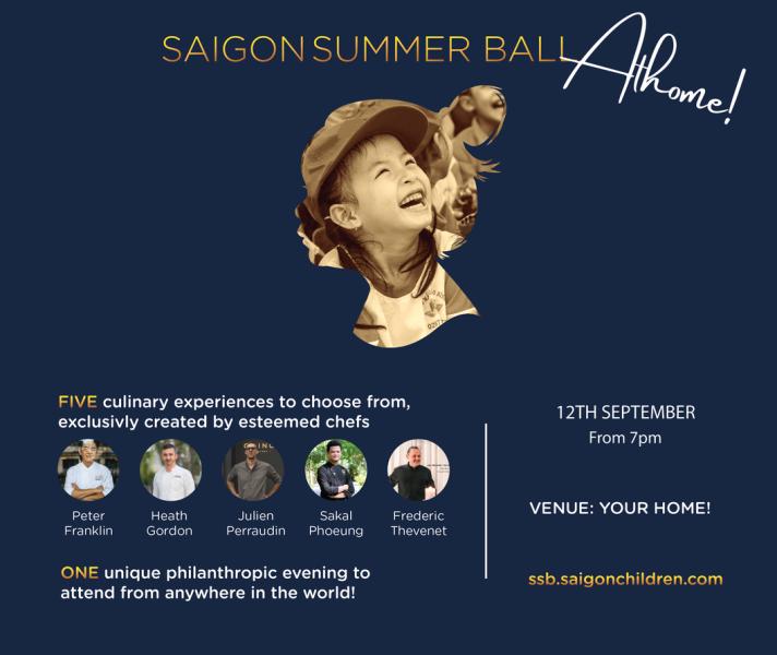 Saigon Children's Charity Năm đầu bếp nổi tiếng của Sài Gòn chung tay giúp trẻ em khó khăn mùa dịch
