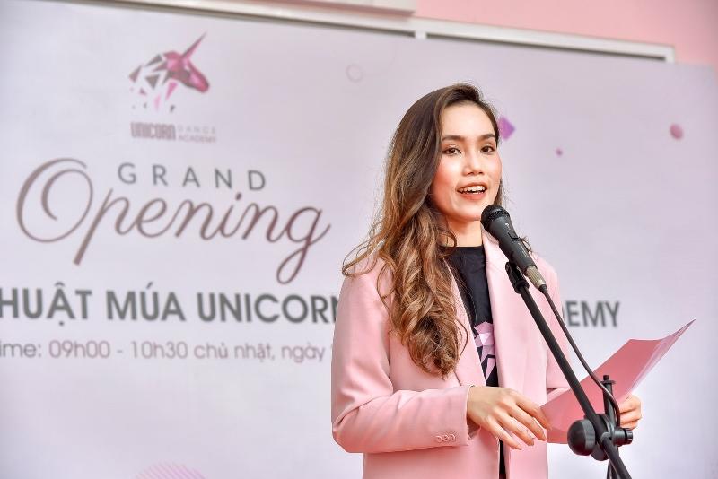Đỗ Hải Anh Nhà sáng lập kiêm hiệu trưởng Học viện Unicorn Dance Academy  Cô gái vàng ballet Đỗ Hải Anh ra mắt Học viện đào tạo Unicorn Dance Academy