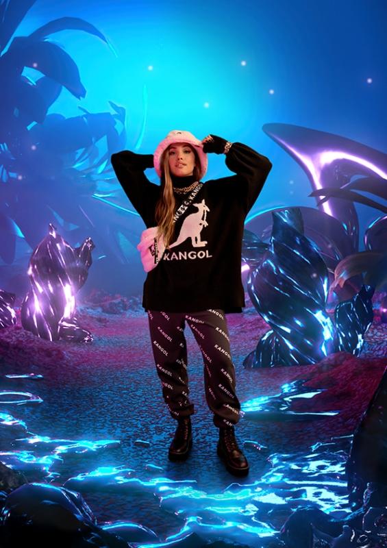 KangolxHM Garden image lowres Kangol x H&M cùng Mabel: Sự hợp tác thời trang streetwear thời thượng dành chogiới trẻ