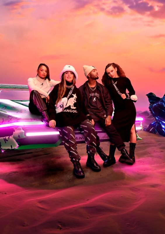 KangolxHM Ride image lowres Kangol x H&M cùng Mabel: Sự hợp tác thời trang streetwear thời thượng dành chogiới trẻ