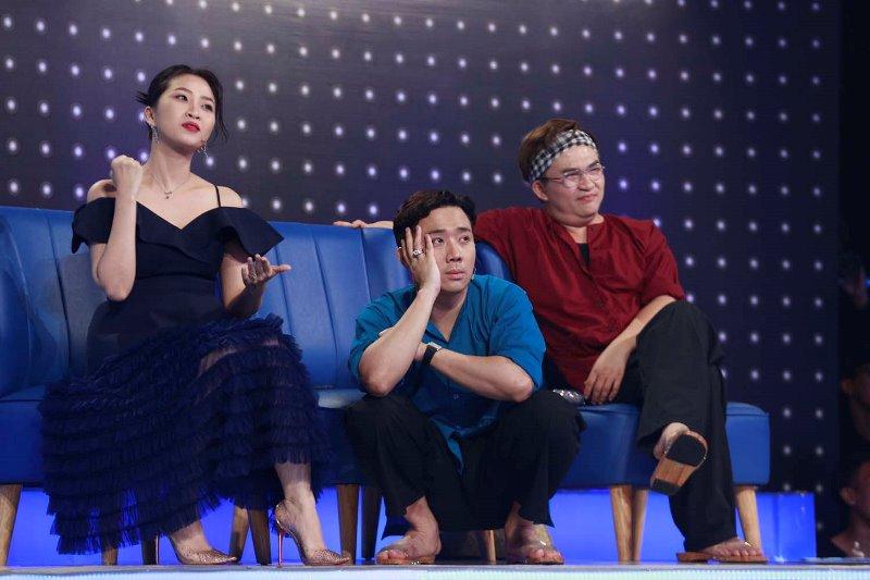 TRAN THANH Trường Giang phũ Văn Mai Hương: Nước mắt anh không rơi vì em đâu