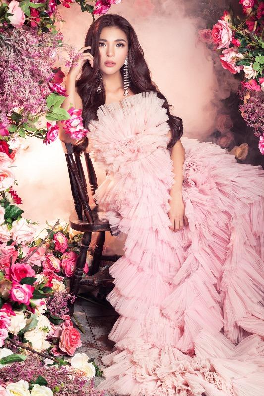 Thuy Diem12 Bà xã Lương Thế Thành khoe thân hình cực phẩm, quyến rũ trong bộ ảnh chuẩn hoa hậu