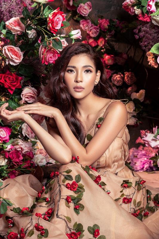 Thuy Diem2 Bà xã Lương Thế Thành khoe thân hình cực phẩm, quyến rũ trong bộ ảnh chuẩn hoa hậu