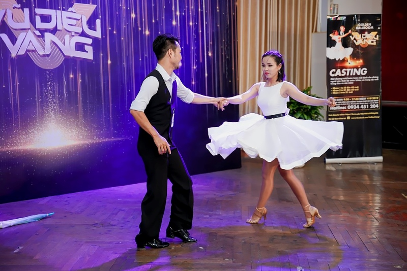 Vong casting Vu Dieu Vang 7 Vũ Điệu Vàng   Gameshow khiêu vũ dành cho lứa tuổi 40+ chuẩn bị ra mắt khán giả