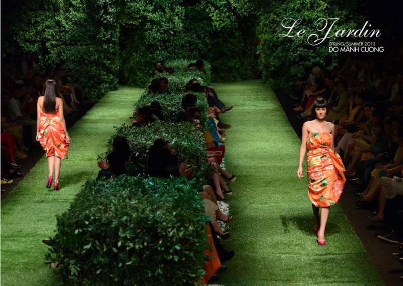 11 Le Jardin 14 khoảnh khắc vàng của Đỗ Mạnh Cường với thời trang Việt