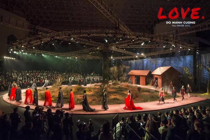 6 Love 14 khoảnh khắc vàng của Đỗ Mạnh Cường với thời trang Việt