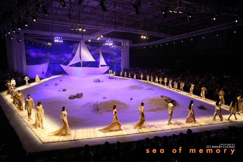 9 Sea of memory 14 khoảnh khắc vàng của Đỗ Mạnh Cường với thời trang Việt
