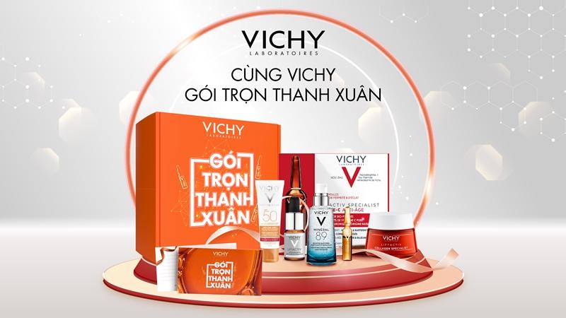 Cùng Vichy Gói trọn Thanh xuân 05 Cùng Vichy trao tặng thanh xuân cho người phụ nữ yêu thương nhân ngày 20/10