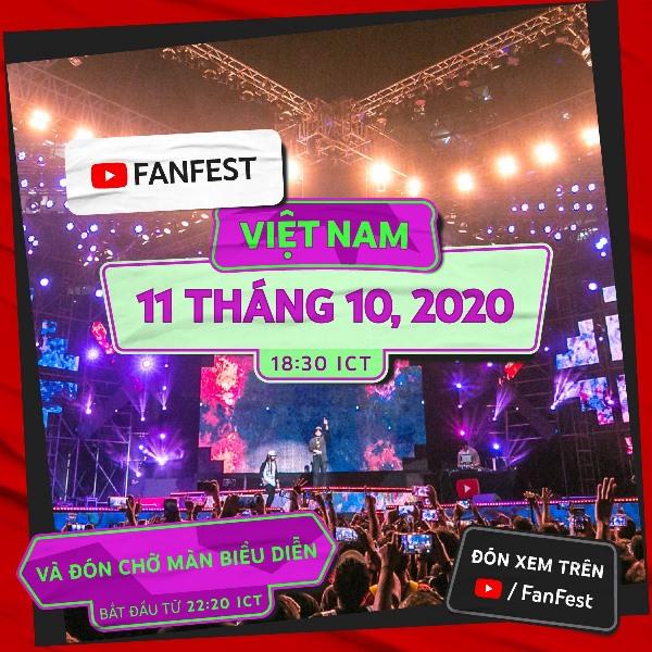 Country Focused Show Schedule 7 VN YouTube FanFest 2020 quy tụ hơn 150 nhà sáng tạo và nghệ sĩ tài năng từ khắp Châu Á   Thái Bình Dương