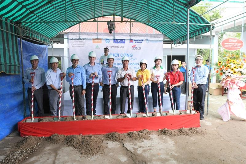 Saigonchildren 1 Saigonchildren và đối tác chung tay cải tạo trường học vùng sâu vùng xa tỉnh Hậu Giang