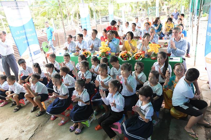 Saigonchildren 2 Saigonchildren và đối tác chung tay cải tạo trường học vùng sâu vùng xa tỉnh Hậu Giang