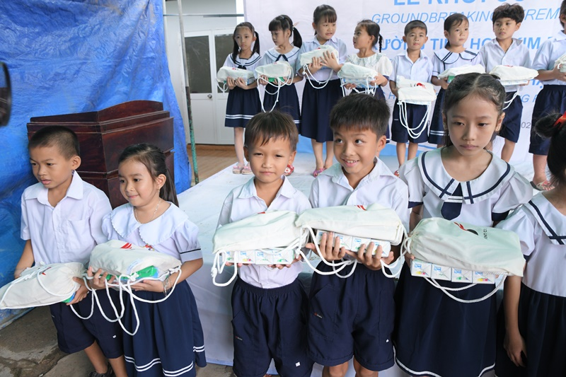 Saigonchildren ok Saigonchildren và đối tác chung tay cải tạo trường học vùng sâu vùng xa tỉnh Hậu Giang