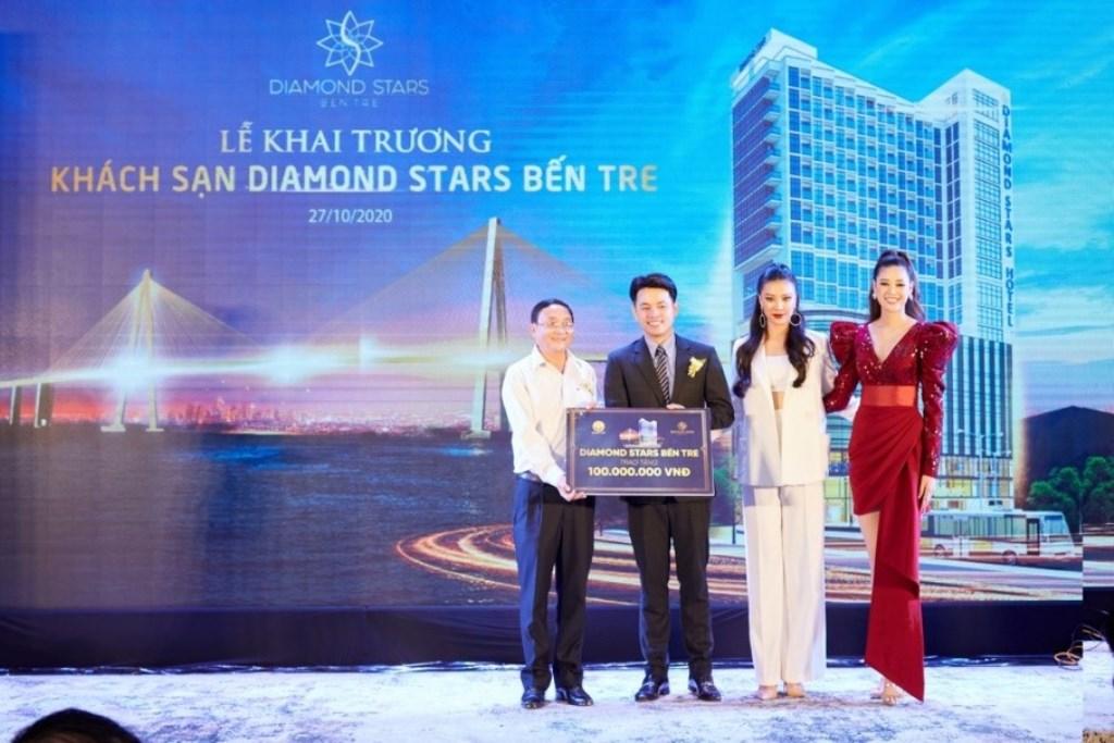 khách sạn sang trọng Bến Tre khách sạn Diamond Stars Bến Tre 3 Chính thức khai trương khách sạn cao tầng sang trọng nhất tỉnh Bến Tre