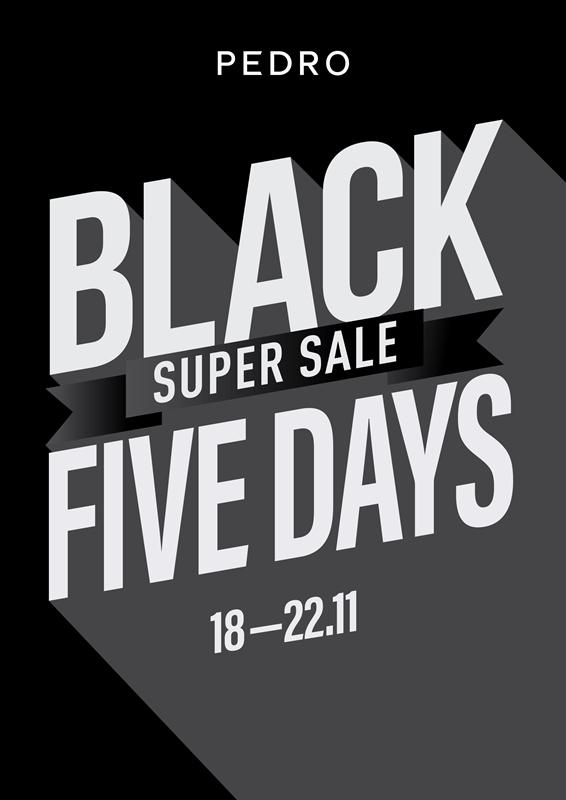 Hình 1. PEDRO Super Sale với giá siêu ưu đãi từ 18 11 22 11 Giá sốc từ 299K, Black Five Days từ PEDRO hứa hẹn còn hot hơn cả Black Friday thông thường!