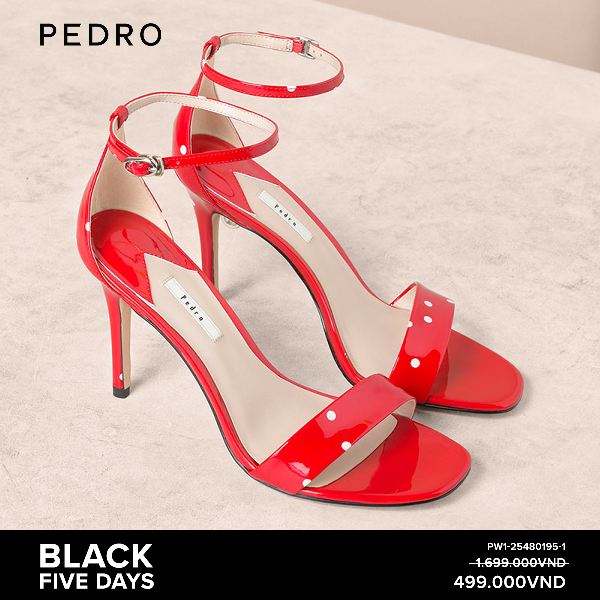 Hình 3. Không quá để tìm kiếm sản phẩm hàng hiệu nhưng giá siêu đẹp tại PEDRO Giá sốc từ 299K, Black Five Days từ PEDRO hứa hẹn còn hot hơn cả Black Friday thông thường!