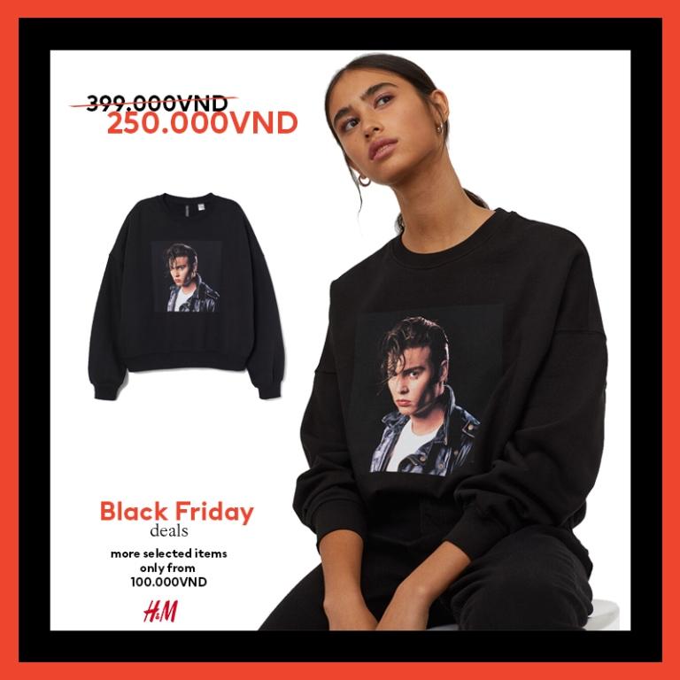 HM thời trang HM Black Friday 1 Bùng nổ ưu đãi cùng H&M trong sự kiện mua sắm Black Friday