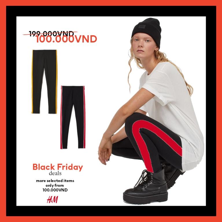 HM thời trang HM Black Friday 2 Bùng nổ ưu đãi cùng H&M trong sự kiện mua sắm Black Friday