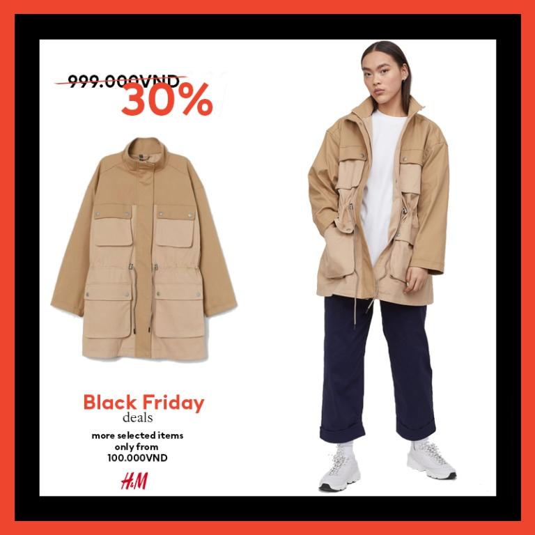 HM thời trang HM Black Friday 3 Bùng nổ ưu đãi cùng H&M trong sự kiện mua sắm Black Friday