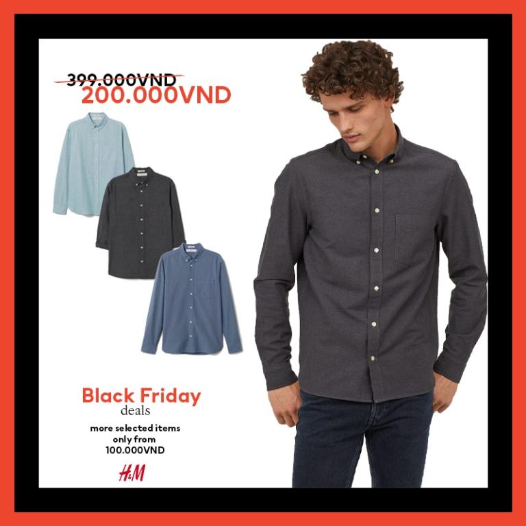 HM thời trang HM Black Friday 5 Bùng nổ ưu đãi cùng H&M trong sự kiện mua sắm Black Friday