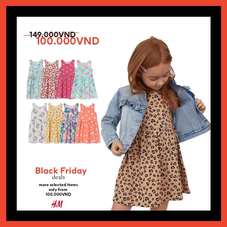 HM thời trang HM Black Friday 7 Bùng nổ ưu đãi cùng H&M trong sự kiện mua sắm Black Friday