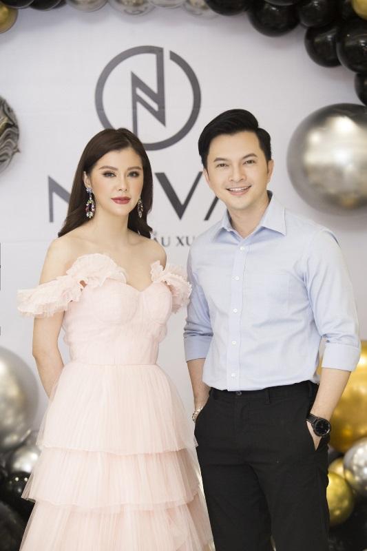 Nam Cuong  lily Trương Quỳnh Anh, Nguyễn Hồng Nhung hội tụ tại sự kiện Neva