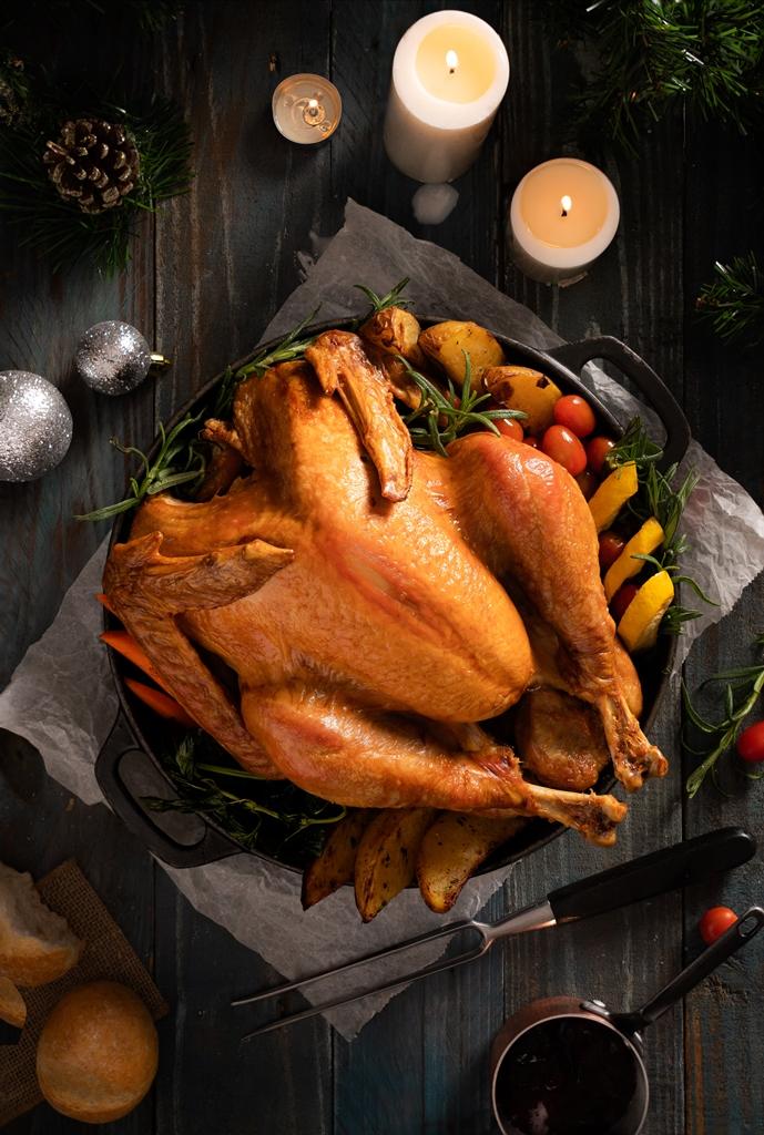 Turkey topdown Trải nghiệm ẩm thực mùa lễ hội cuối năm tại InterContinental Saigon