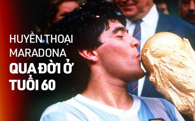 maradona Diego Maradona và lời tiên tri định mệnh về một huyền thoại vĩ đại