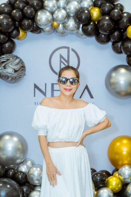 my le  Trương Quỳnh Anh, Nguyễn Hồng Nhung hội tụ tại sự kiện Neva