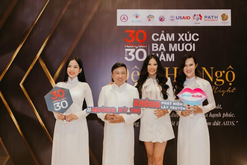 """phòng chống HIVAIDS 2 Đông đảo nghệ sĩ đồng hành cùng đêm hội ngộ """"Cảm xúc 30 năm"""""""