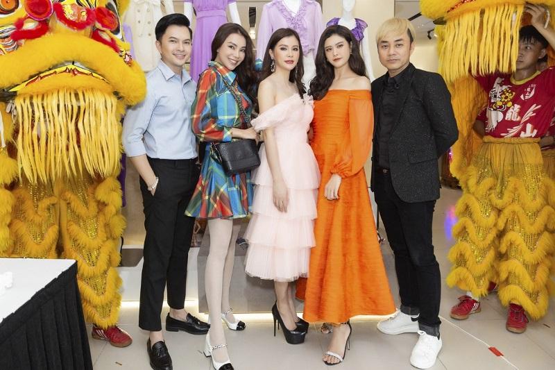 truong qanh Trương Quỳnh Anh, Nguyễn Hồng Nhung hội tụ tại sự kiện Neva