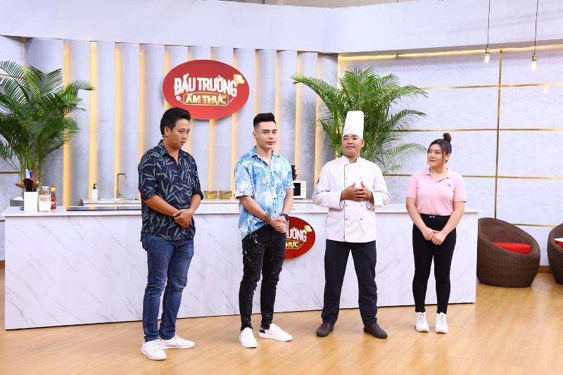 Đấu Trường Ẩm Thực 1 Lê Dương Bảo Lâm bất ngờ với khả năng nấu ăn cực chuyên nghiệp của Lê Nam
