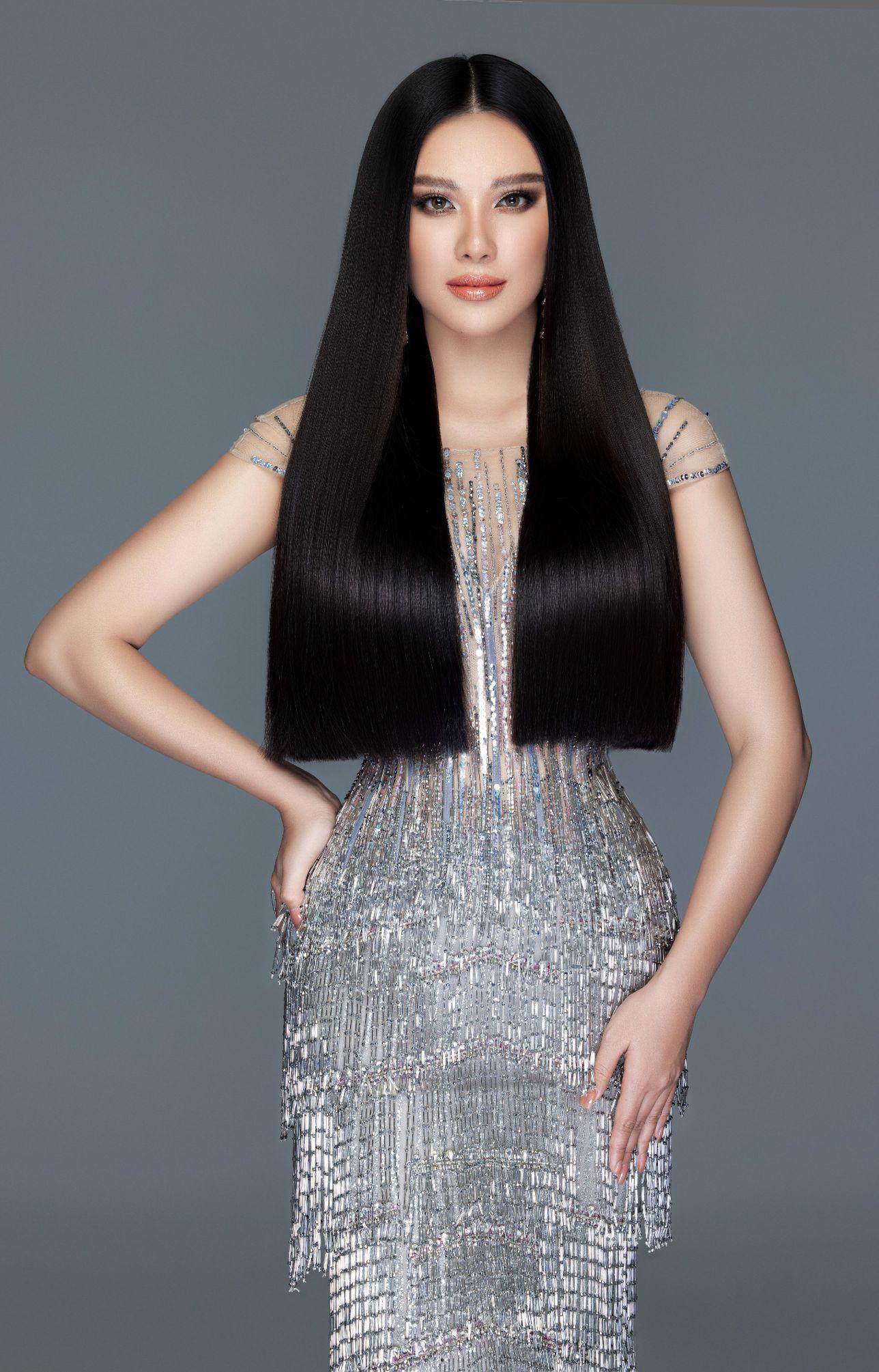 A hau Kim Duyen1 Á hậu Kim Duyên khoe nhan sắc chuẩn beauty queen trong bộ ảnh đầu năm mới