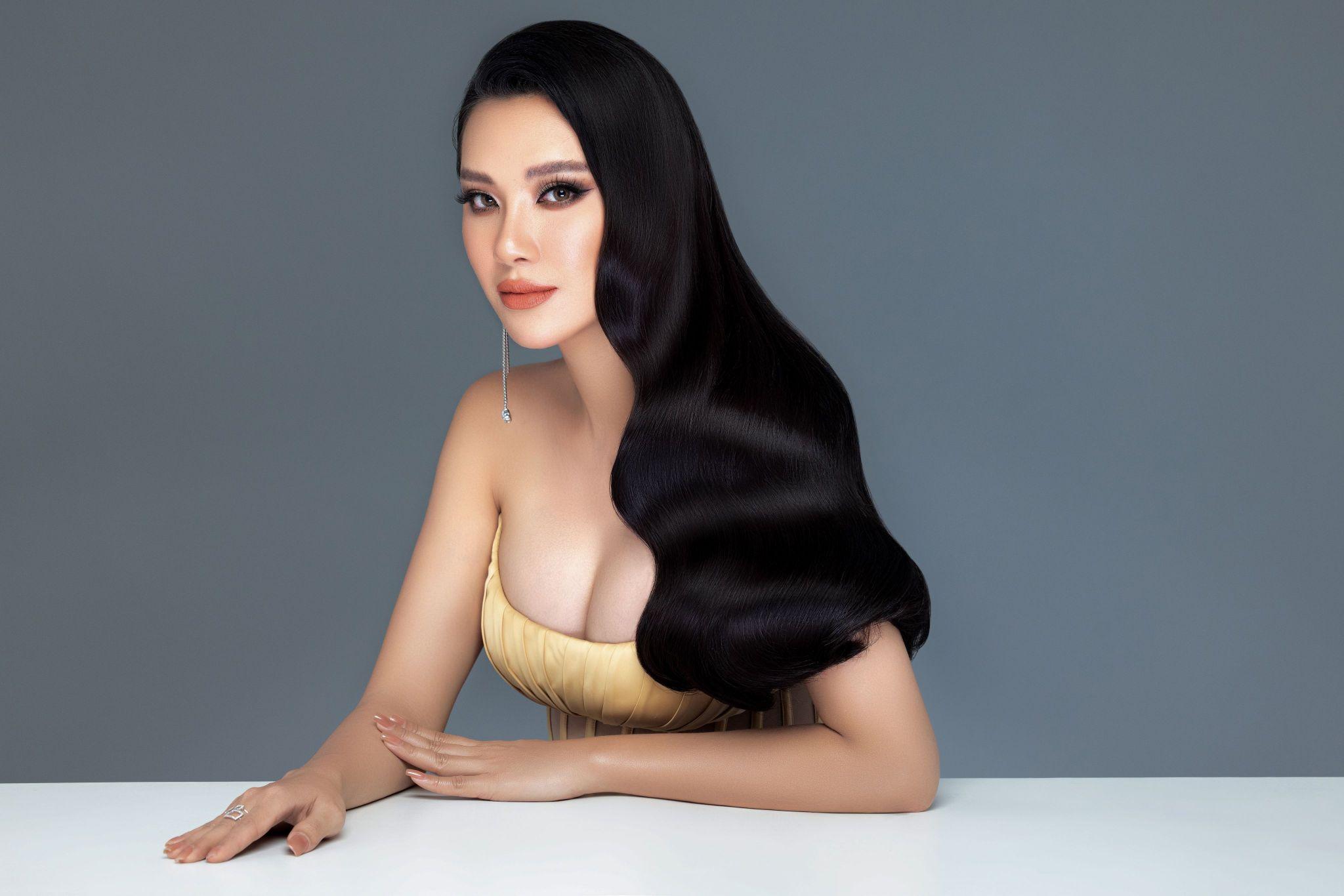A hau Kim Duyen11 Á hậu Kim Duyên khoe nhan sắc chuẩn beauty queen trong bộ ảnh đầu năm mới
