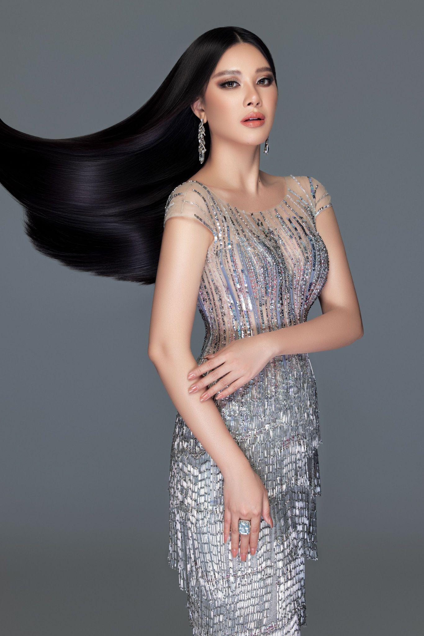 A hau Kim Duyen2 Á hậu Kim Duyên khoe nhan sắc chuẩn beauty queen trong bộ ảnh đầu năm mới