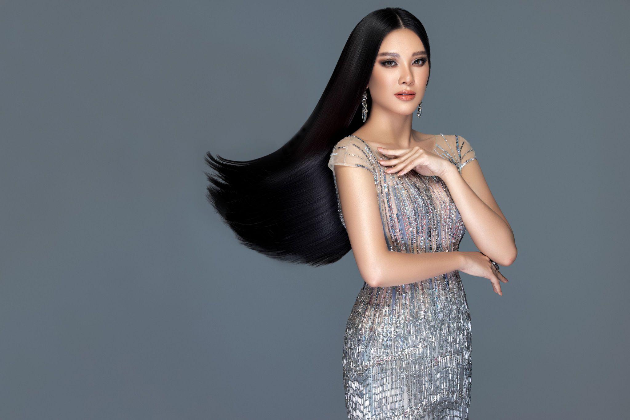 A hau Kim Duyen3 Á hậu Kim Duyên khoe nhan sắc chuẩn beauty queen trong bộ ảnh đầu năm mới