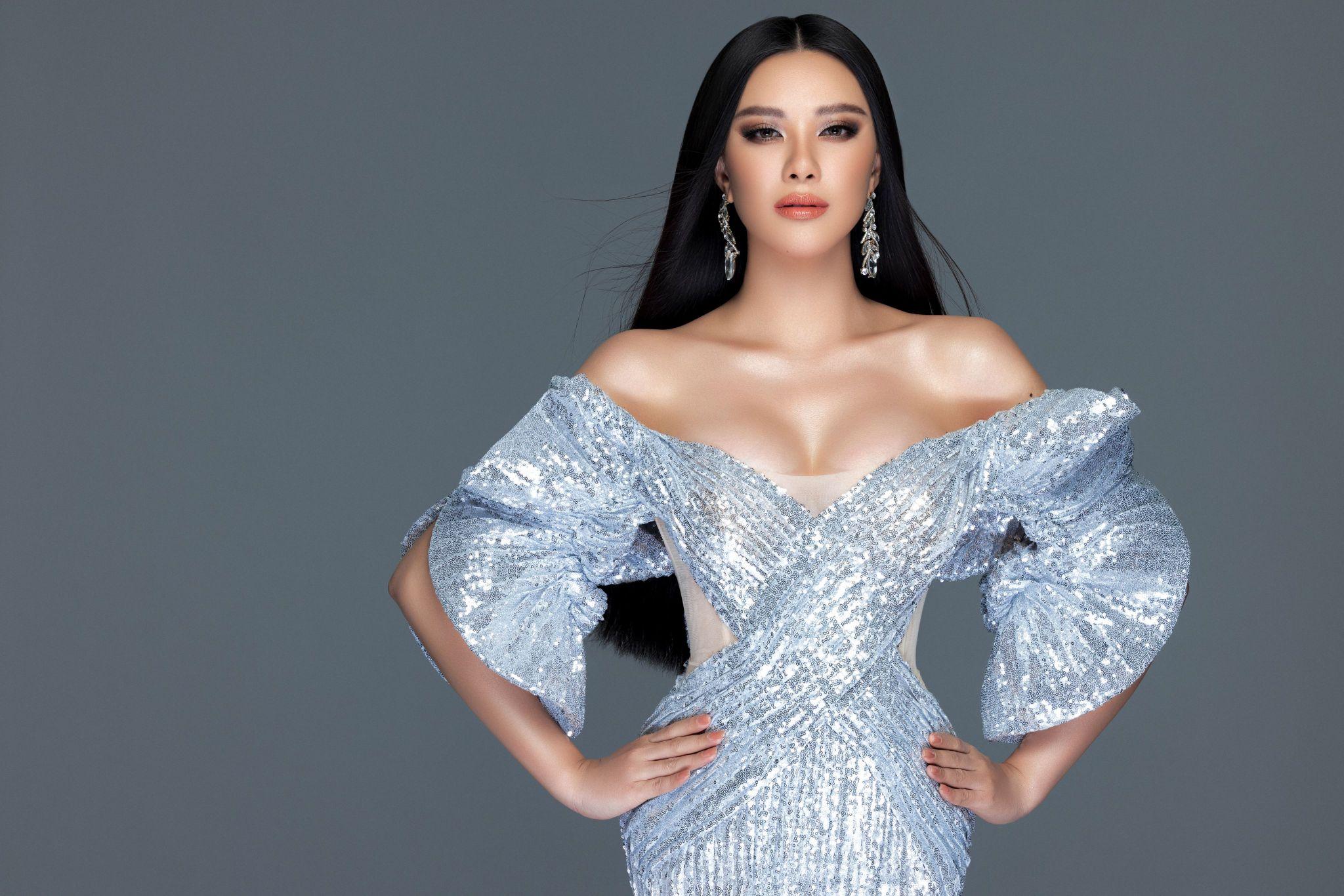A hau Kim Duyen5 Á hậu Kim Duyên khoe nhan sắc chuẩn beauty queen trong bộ ảnh đầu năm mới