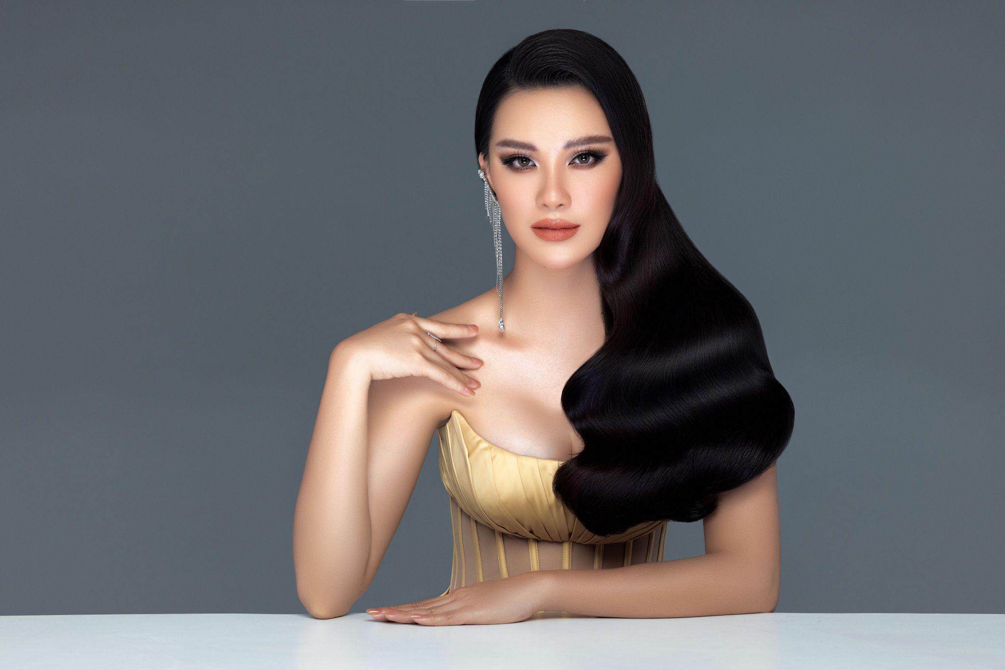 A hau Kim Duyen8 Á hậu Kim Duyên khoe nhan sắc chuẩn beauty queen trong bộ ảnh đầu năm mới