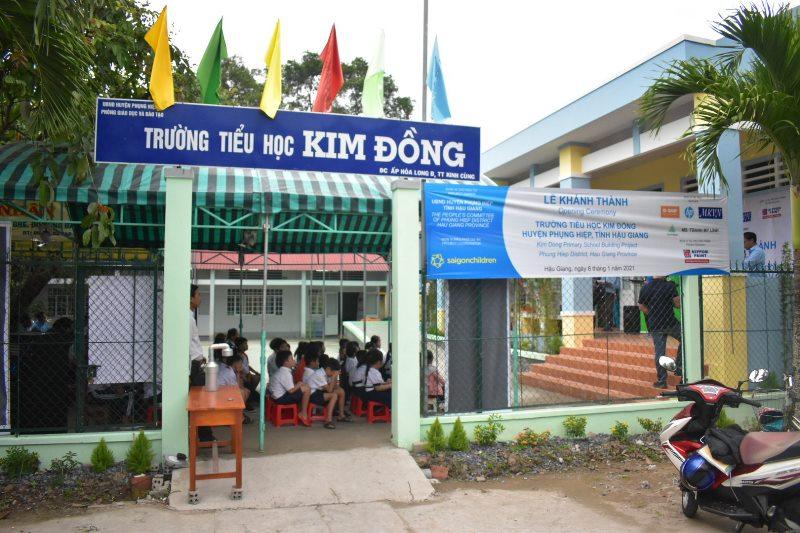 Saigon Children's Charity 2 Saigon Children's Charity khánh thành thêm một ngôi trường mới tại Hậu Giang