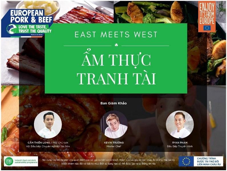 am thuc tranh tai Khởi động cuộc thi Ẩm Thực Tranh Tài Đông Gặp Tây – East Meets West