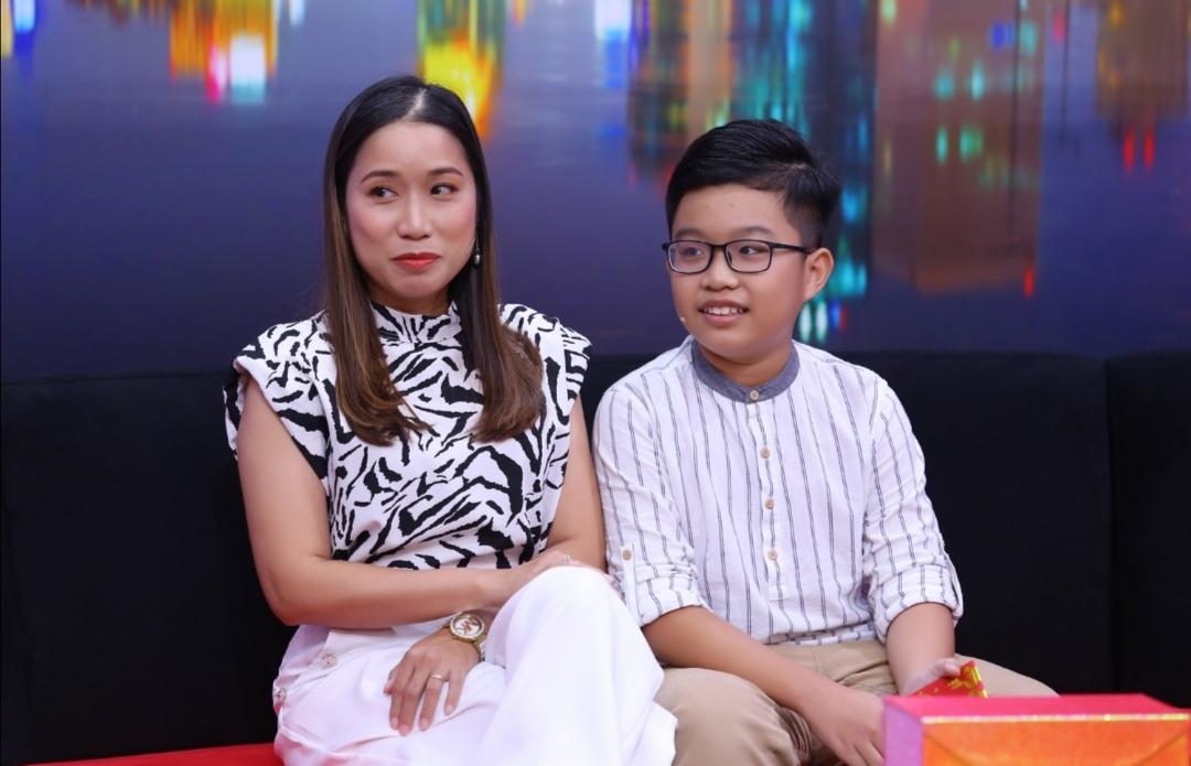 Screenshot 20210209 185825 Nhóc tỳ 11 tuổi thổ lộ muốn tự giữ tiền lì xì khiến người mẹ bối rối trên sóng truyền hình