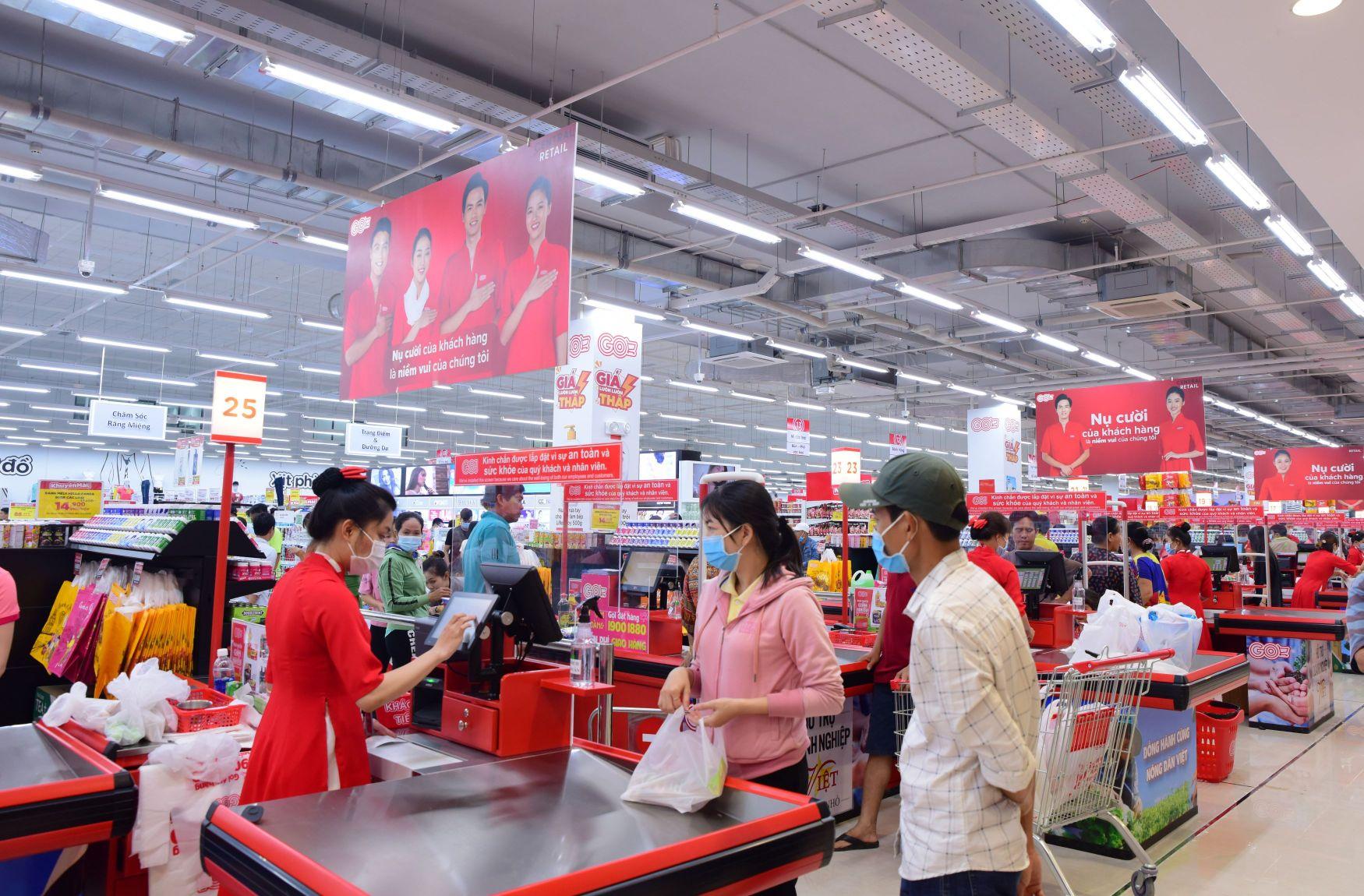 Đại siêu thị Big C 3 Đại siêu thị Big C đổi tên thành Đại siêu thị GO!: Khách hàng được mua sắm trong không gian hiện đại