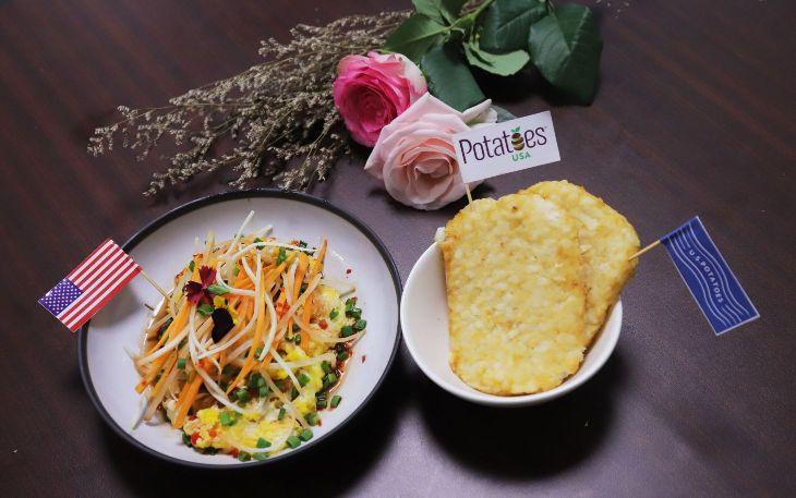 BOT CHIEN KHOAI TAY MY Bếp trưởng Lê Xuân Tâm truyền nghề món ngon từ khoai tây Mỹ cực hấp dẫn, dễ làm