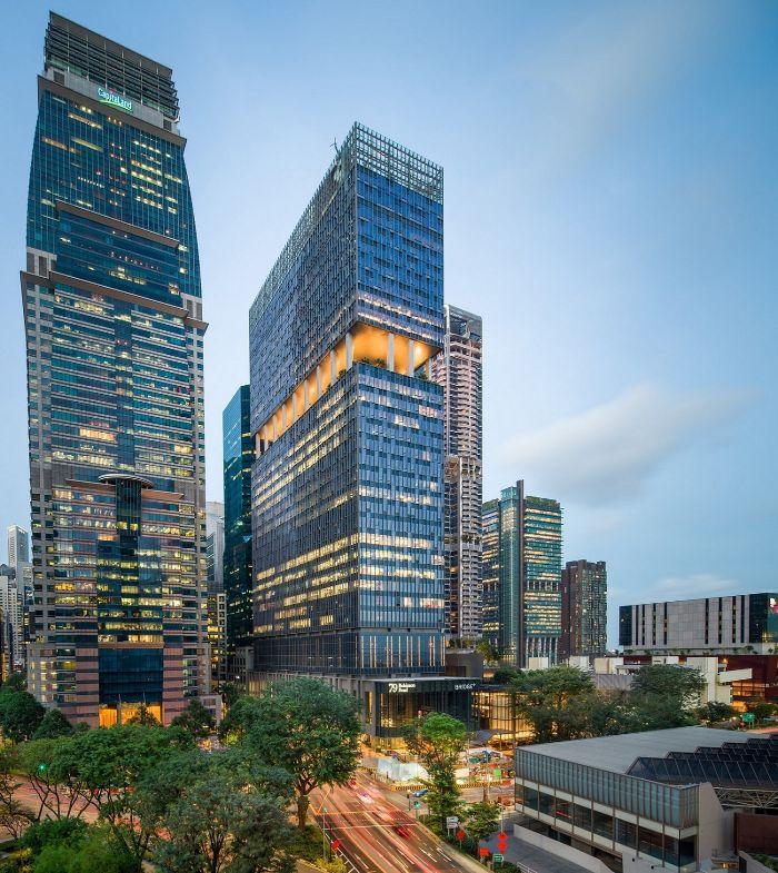 Hình ảnh Capital Tower and 79 Robinson Road CapitaLand 1 CapitaLand đề xuất tái cơ cấu để nâng cao trọng tâm kinh doanh và mở rộng giá trị cổ đông