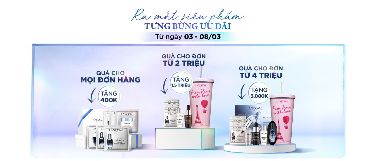 Lancome Clarifique deal Những ưu đãi 8/3 hấp dẫn từ các thương hiệu làm đẹp danh tiếng