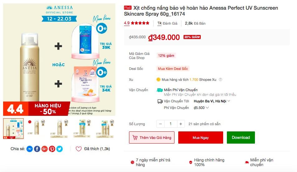 shopee 9 Soi nhanh 5 sản phẩm đình đám từ Senka và Anessa bán ào ào trên Shopee, liệu có đáng để mua!